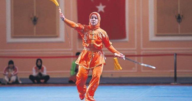 Wushuda şampiyon Türkiye