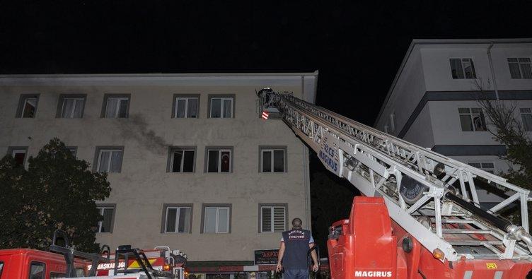 Yalnız yaşayan adam evinde çıkan yangında öldü