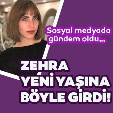 Hülya Avşar ile Kaya Çilingiroğlu'nun kızları Zehra Çilingiroğlu yeni yaşına böyle girdi! Sosyal medyada gündem oldu…