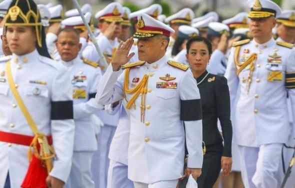 Tayland Kralı yine yakalandı!