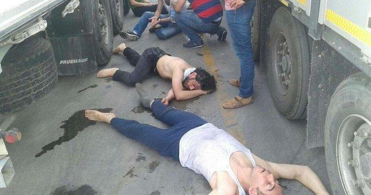 Teröristleri ölümden jandarma kurtardı
