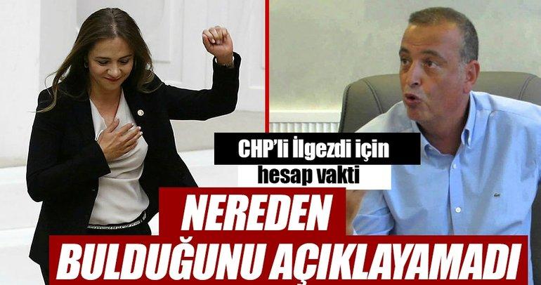 CHP'li İlgezdi için hesap vakti