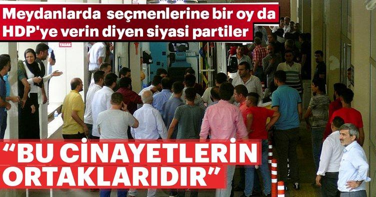 PKK'yı eleştirmekten korkanlar bu cinayetlerin ve gelecekteki cinayetlerin ortaklarıdır