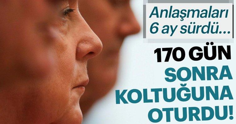 Son Dakika Haberi: Angela Merkel yeniden başbakan seçildi!