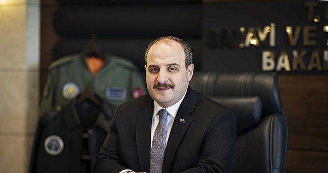 """Sanayi ve Teknoloji Bakanı Varank: """"Allah'ın izniyle bu savaşı da hep birlikte kazanacağız"""""""