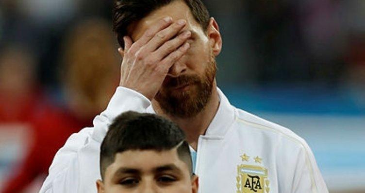 Şampiyonluk yarınlara kaldı: Lionel Messi...