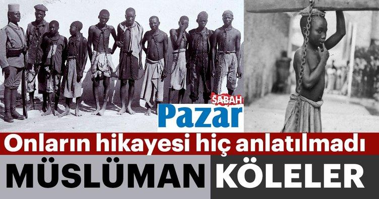 Köle pazarındaki müslümanlar