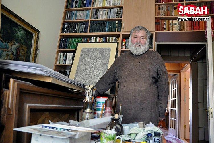 Rus ressam, marküteri sanatıyla Kur'an'dan 20 ayeti tablolaştırdı