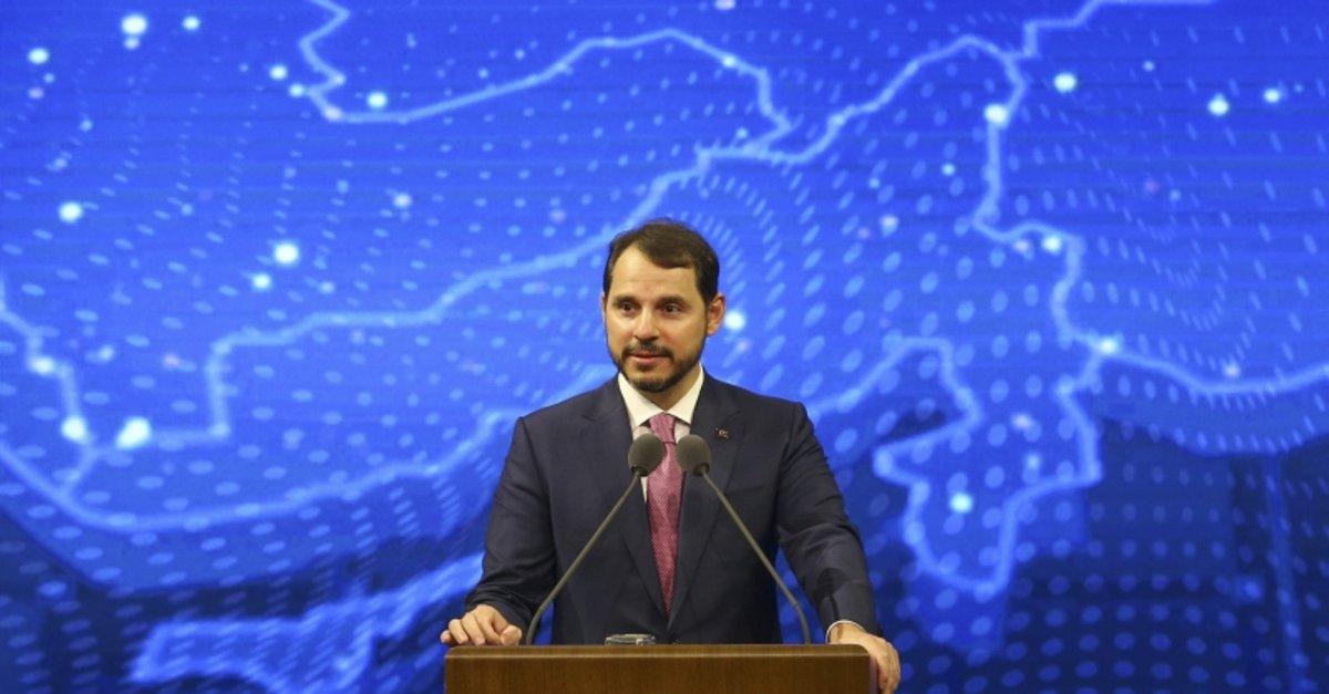 Hazine ve Maliye Bakanı Berat Albayrak'tan duyuru