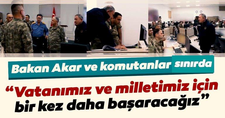 Milli Savunma Bakanı Akar: Vatanımız ve milletimiz için bir kez daha başaracağız