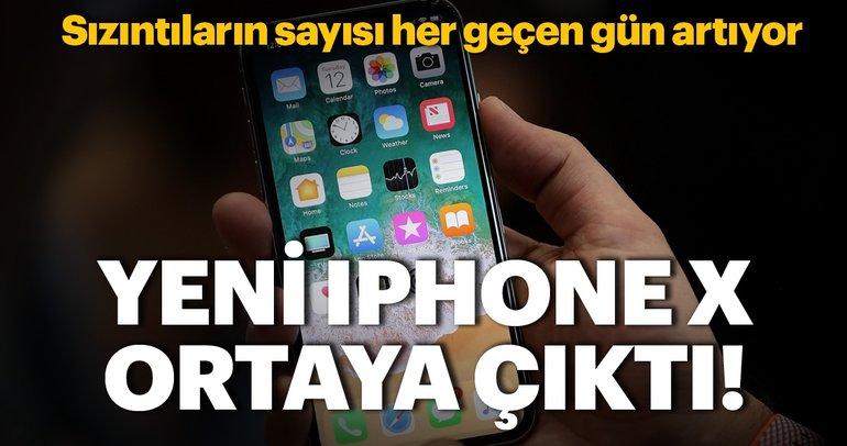Yeni iPhone X sızdı! Bakın nasıl görünüyor