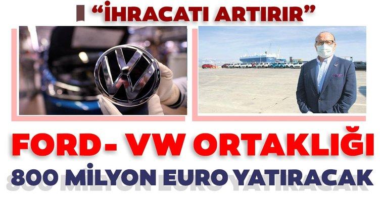 Ford ve Volkswagen ortak araç üretecek! 800 milyon euroluk dev yatırım