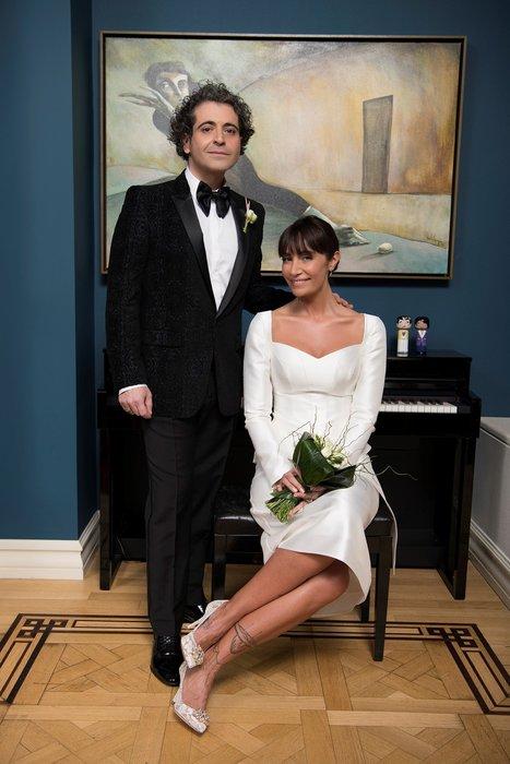 Sıla Gençoğlu ile Hazer Amani evlendi