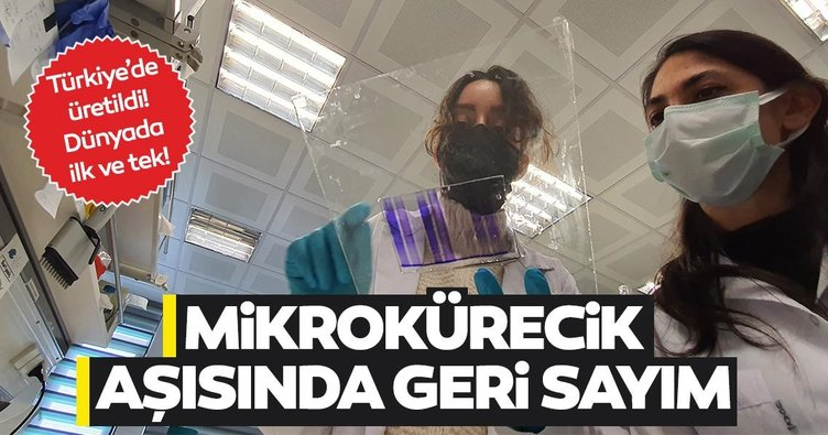 Dünyada ilk ve tek Türkiye'de üredtildi! Mikrokürecik aşısında geri sayım