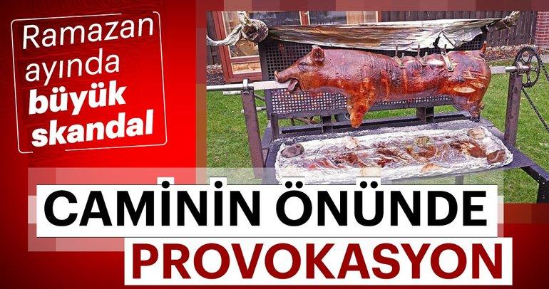 Son dakika:Ramazanda Türk camisi önünde domuz çevirmek isteyen Pegida'ya yasak!