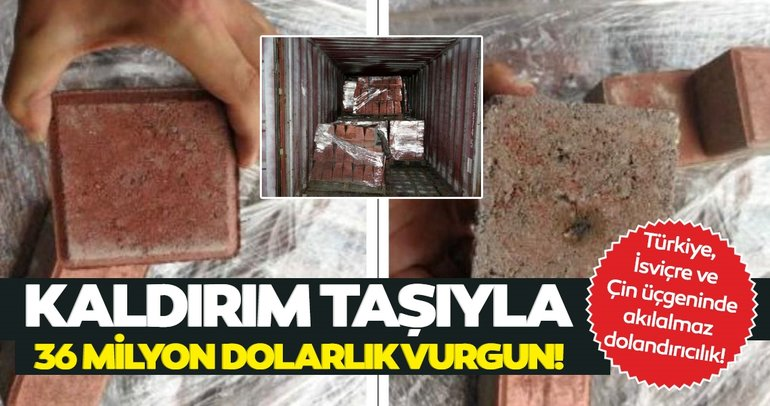 Son dakika: İstanbul'da kaldırım taşıyla 36 milyon dolarlık vurgun! Şoke eden detaylar ortaya çıktı...