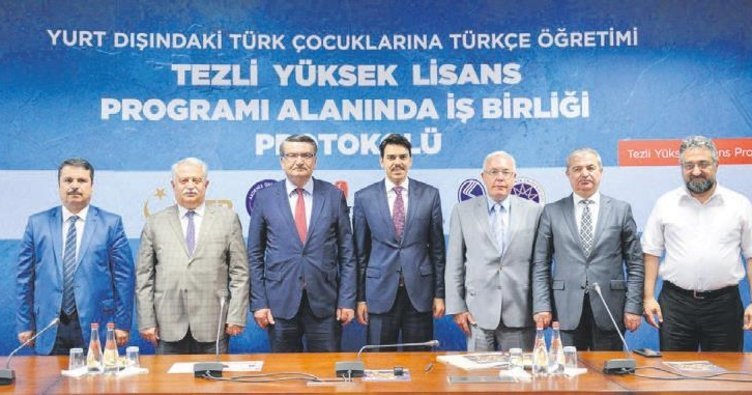 Yurtdışındaki çocuklar için Türkçe öğreticileri yetişiyor