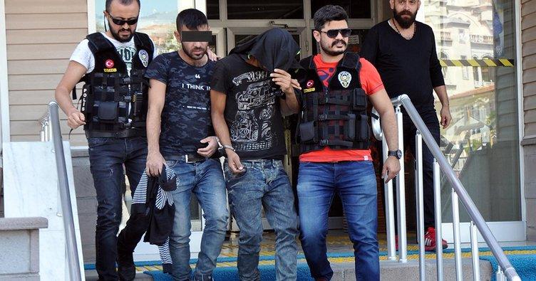 Samsun'da yaşlı kadnıı gasp eden 2 kişi yakalandı