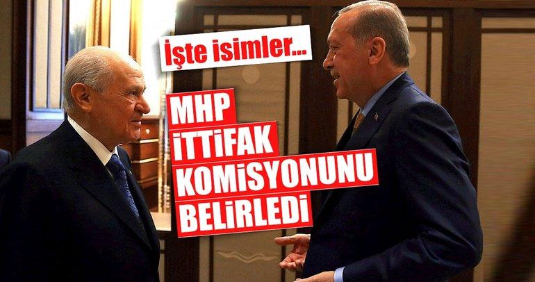 Son Dakika Haberi: MHP ittifak komisyonunu belirledi