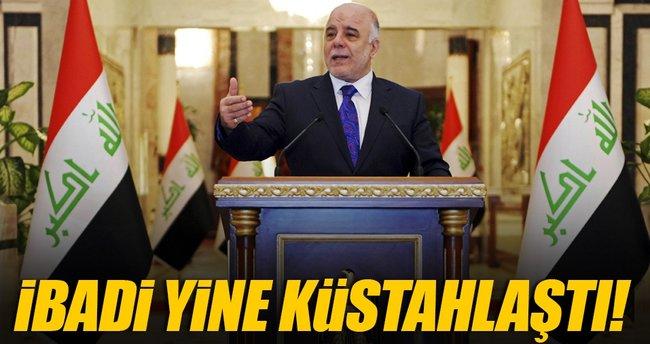 Irak Başbakanı İbadi'den küstah Musul açıklaması