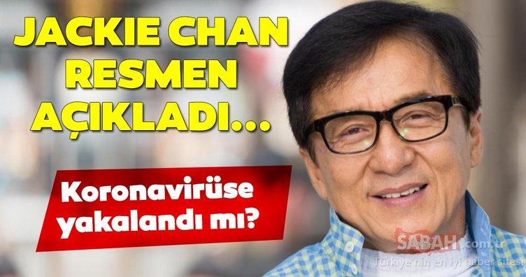 Dünyaca ünlü aktör Jackie Chan'den son dakika korona virüsü açıklaması geldi! Koronavirüse yakalandı mı?