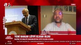 Yeni Hazine ve Maliye Bakanı Lütfi Elvan'dan son dakika açıklaması! Lütfi Elvan kimdir? | Video