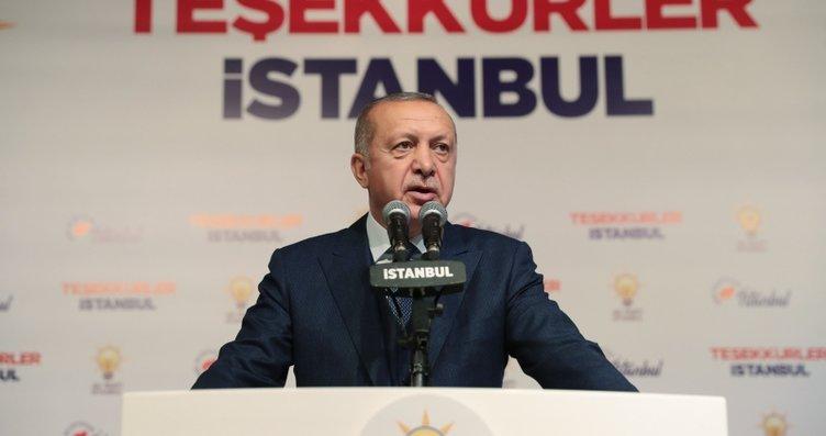 Başkan Erdoğan AK Parti İl Başkanlığı'nda