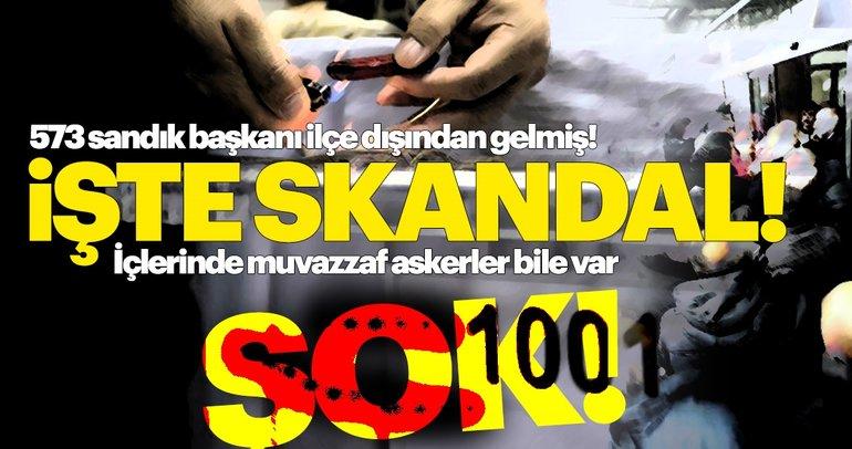 SKANDAL: Maltepe'deki sandık başkanları İstanbul dışından getirilmiş! Asker bile...