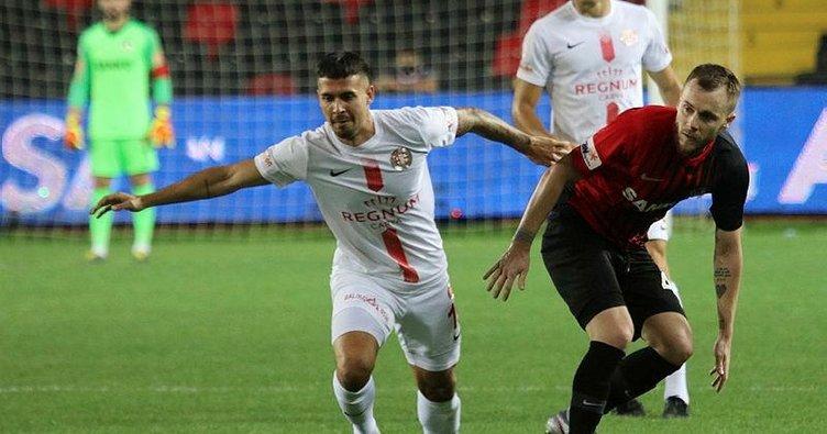 Antalyaspor 88'de sobeledi