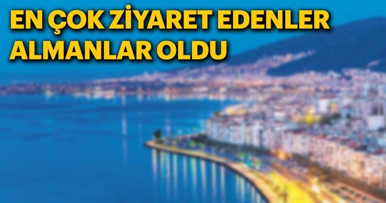 2018'de yabancı turistlerin gözdesi İzmir