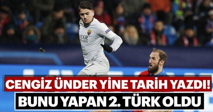 Cengiz Ünder, Türk futbol tarihine geçti