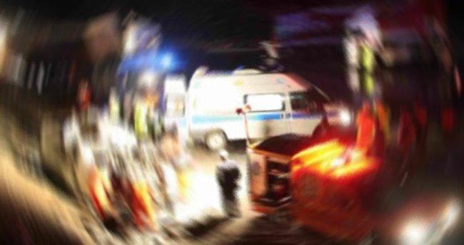 İzmir'de trafik kazası: 1 ölü 2 yaralı