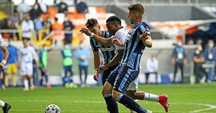 Adana Demirspor lider Giresunspor'u 3 golle geçti