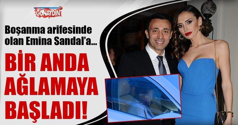 Emina Sandal'a o mesaj Mustafa Sandal'dan mı geldi?