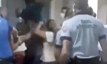 'Çocuğun kolunu acıttı' diyerek hemşireleri darbettiler