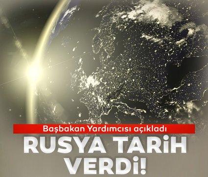 Rusya Başbakan Yardımcısı resmen açıkladı ve tarih verdi!