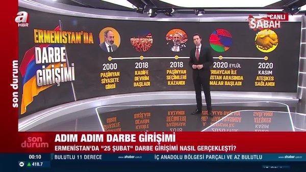 Ermenistan'da '25 Şubat' darbe girişimi nasıl gerçekleşti? Detaylar A Haber'de anlatıldı | Video