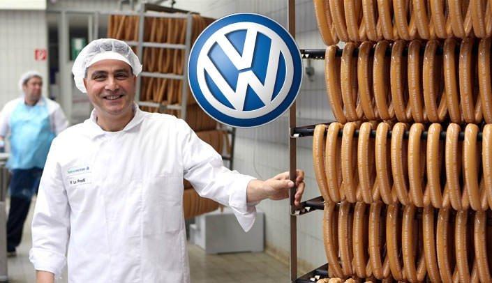 Volkswagen sosis işine girdi