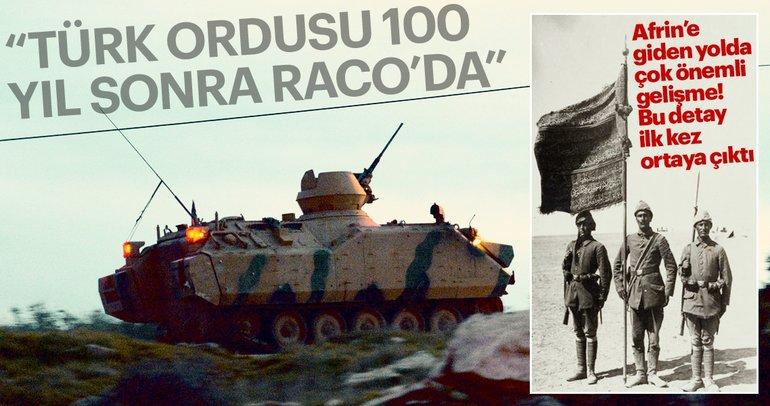Son Dakika Haberi: Afrin'in Raco belde merkezi ele geçirildi