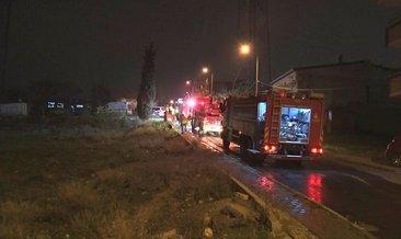 Başakşehir'de yangın! 7 kişilik aile ölümden döndü