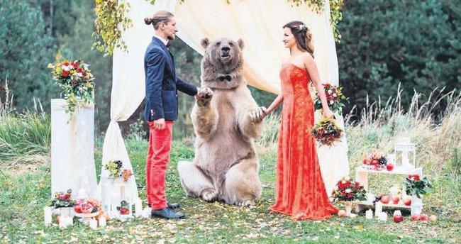 Düğünün sıradışı konuğu