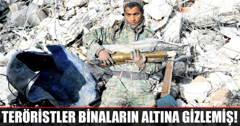 Afrin'in altı roket kaynıyor
