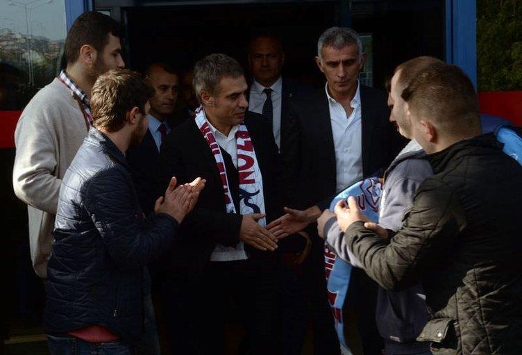 Ersun Yanal Trabzon'da