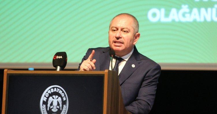 Atiker Konyaspor'da başkan Hilmi Kulluk güven tazeledi