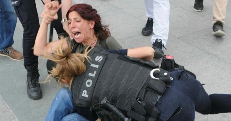 Yasa dışı eyleme gözaltı