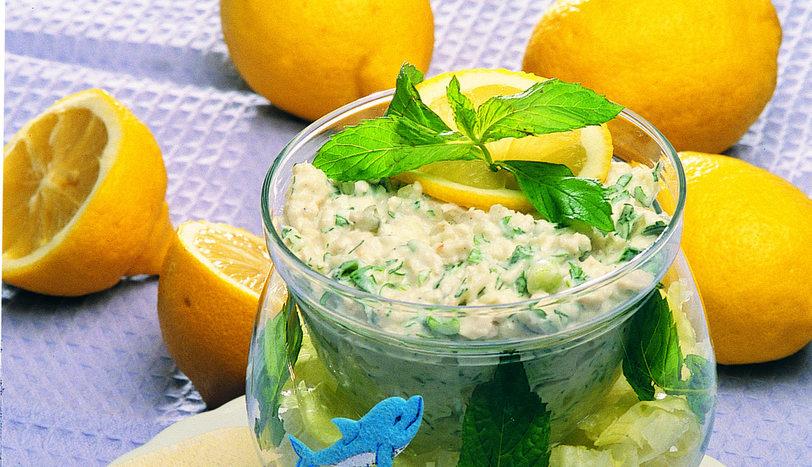 Levrek Salatası