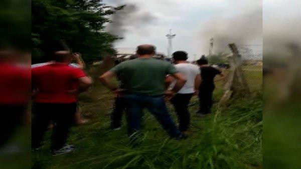 Son Dakika Haberi: Sakarya'daki patlama anı görüntüleri ortaya çıktı | Video