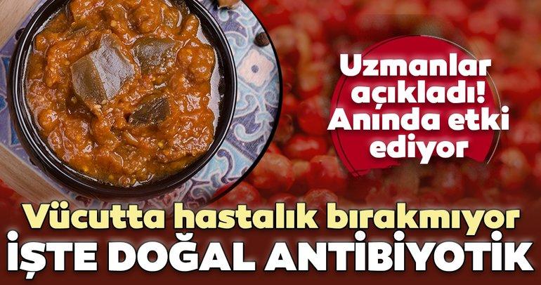 Bağışıklığı güçlendiriyor! İşte doğal antibiyotik...