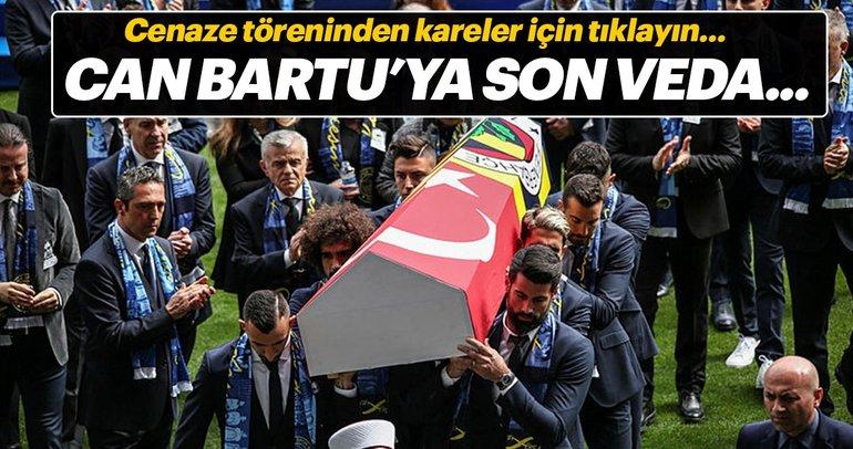 Can Bartu'nun cenaze töreninden kareler