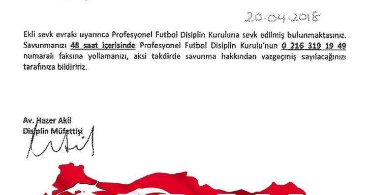 İşte olaylı Fenerbahçe - Beşiktaş maçının temsilci...